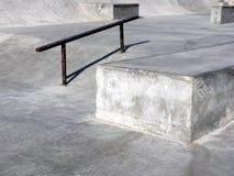 Horizontal de stationnement de patin Photos stock