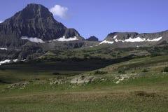 Horizontal de stationnement national de glacier Image libre de droits