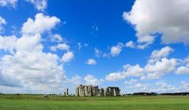 Horizontal de Stonehenge Image libre de droits