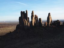 Horizontal de sud-ouest de désert. Photographie stock