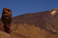 Horizontal de Teide, Tenerife Images libres de droits