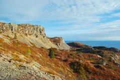 Horizontal de Terre-Neuve Photos libres de droits