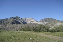 Horizontal de vallée de montagne Photo stock
