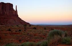 Horizontal de vallée de monument Images stock