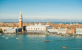 Horizontal de Venise Photo libre de droits