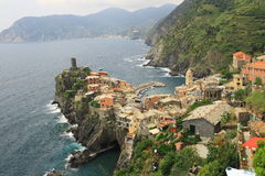 Horizontal de Vernazza Photos stock