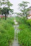 Horizontal de village Images stock