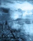 Horizontal de ville Photo libre de droits