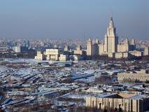 Horizontal de ville Images libres de droits