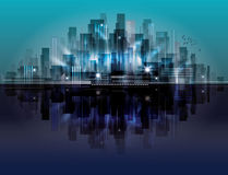 Horizontal de ville illustration stock
