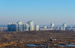 Horizontal de ville Photo stock