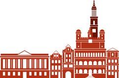 Horizontal de ville Image libre de droits