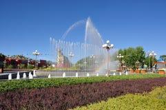Horizontal de ville de Lhasa image stock