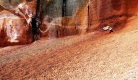 Horizontal de volcan Photos stock