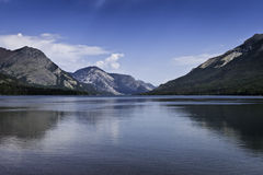 Horizontal de Waterton image stock
