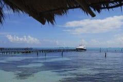 Horizontal des Caraïbe mexicaines Image libre de droits