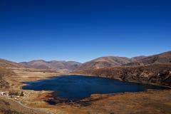 Horizontal des montagnes photographie stock libre de droits