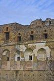 Horizontal des ruines de Pompeii photos libres de droits