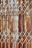 Horizontal door rust Royalty Free Stock Images
