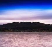 Horizontal dramatic Norway fjord landscape Stock Images
