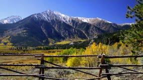 Horizontal du Colorado photos libres de droits