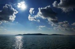 Horizontal du Lac Balaton, Hongrie Images libres de droits