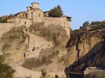 Horizontal du monastère de Meteora Images stock