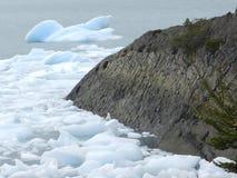Horizontal du patagonia Photographie stock