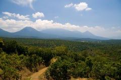 Horizontal du Salvador Photographie stock
