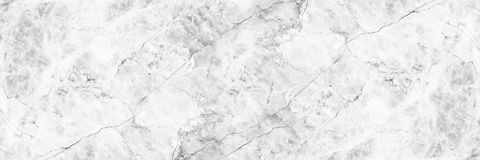 Horizontal elegant white marble background.  Royalty Free Stock Image