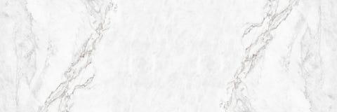 Horizontal elegant white marble texture abstract background Royalty Free Stock Image