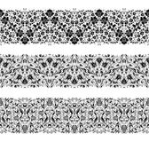 Horizontal elements decoration vector Stock Images
