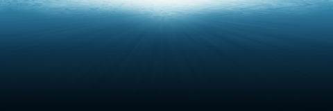 Horizontal empty underwater for background and design. It is horizontal empty underwater for background and design Royalty Free Stock Image