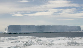 Horizontal en Antarctique photos libres de droits