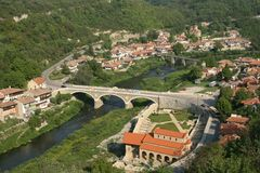 Horizontal en Bulgarie Photographie stock libre de droits