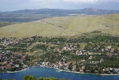 Horizontal en Croatie Photos stock