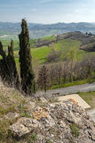 Horizontal en Emilia-romagna (Italie) Photo stock