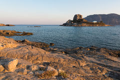 Horizontal en Grèce Photographie stock libre de droits
