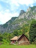 Horizontal en montagnes Photos libres de droits