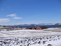 Horizontal en Norvège Photos stock