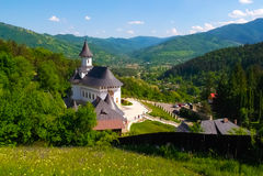 Horizontal en Roumanie Photographie stock