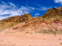 Horizontal en stationnement national de Death Valley Image libre de droits