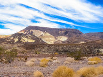 Horizontal en stationnement national de Death Valley Photographie stock
