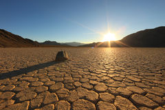 Horizontal en stationnement national de Death Valley, Eao photo stock