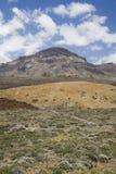 Horizontal en stationnement national Teide Photo stock