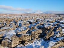 Horizontal en vallées de Yorkshire Images libres de droits