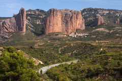 Horizontal espagnol Image libre de droits