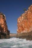 Horizontal Falls narrow gap Royalty Free Stock Photography