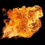 Horizontal Fireball Stock Image