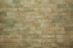 Horizontal flat stacked stone wall Stock Photos